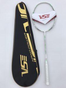 vợt cầu lông khung VS chính hãng màu trắng