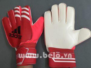 Găng tay thủ môn Adidas màu đỏ