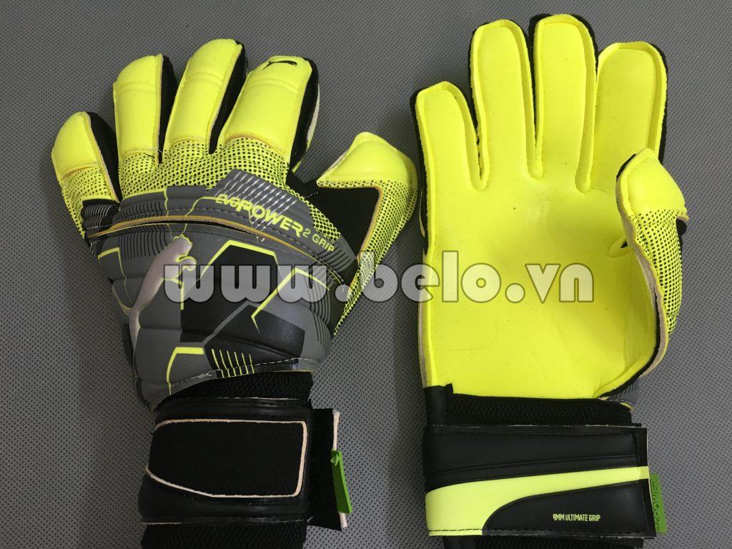 Găng tay thủ môn puma evopower màu vàng