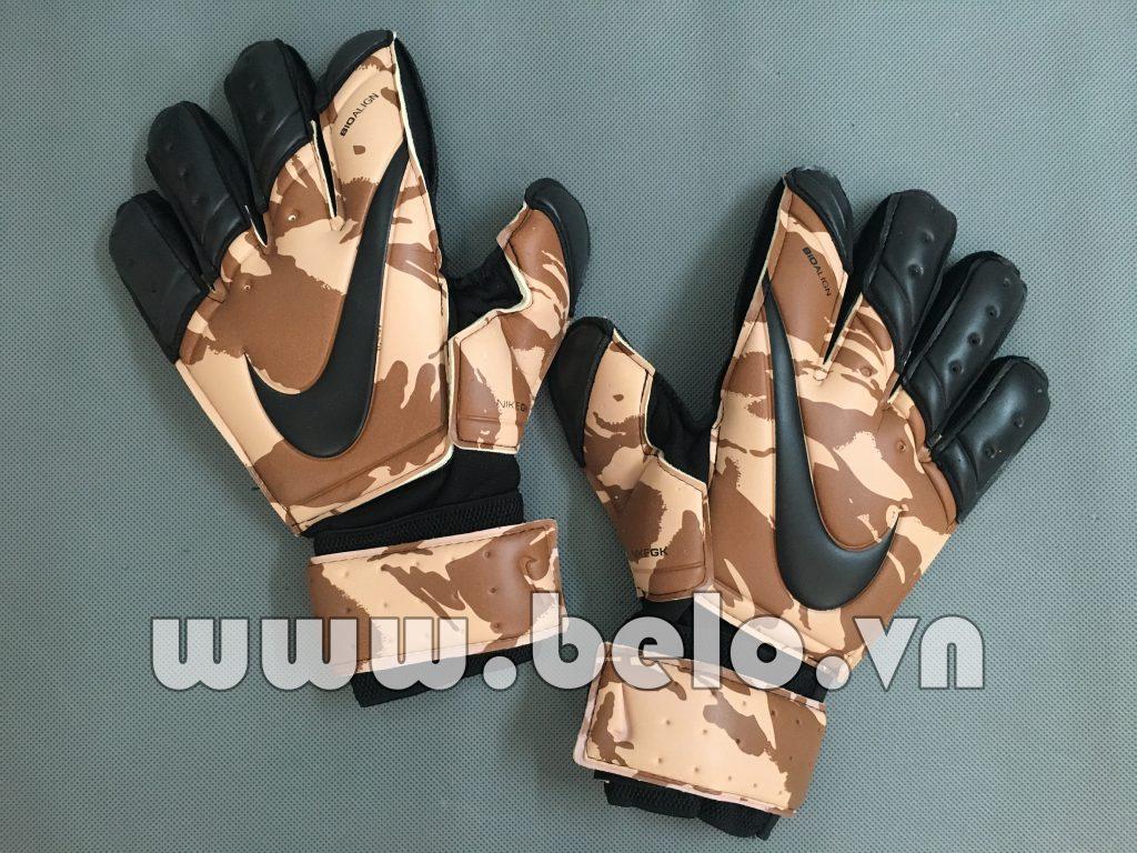 Găng tay thủ môn cao cấp Nike Bioalign xám