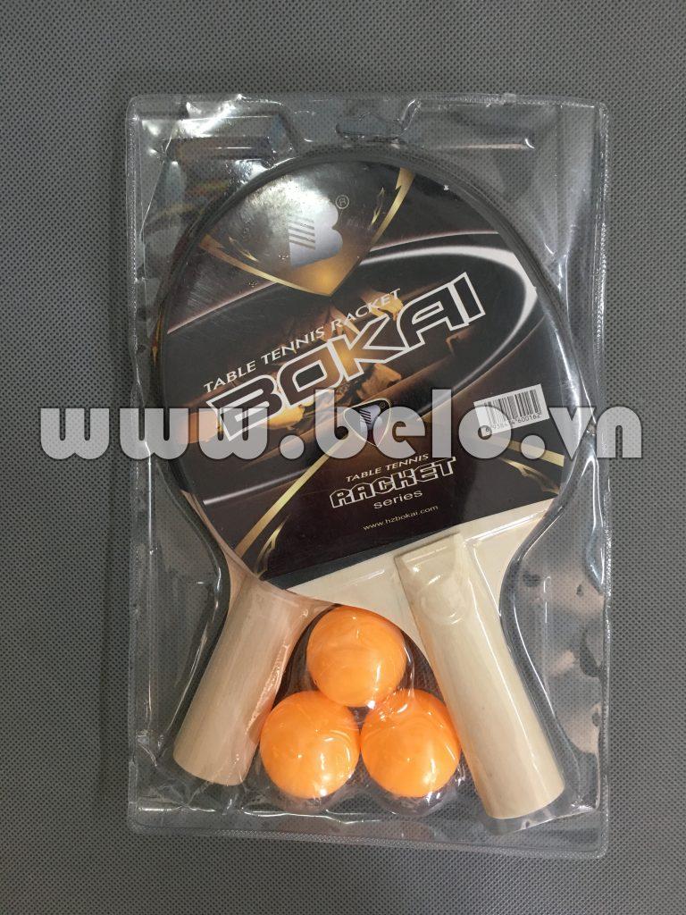 Vợt bóng bàn bokai racket giá rẻ tại Hà Nội
