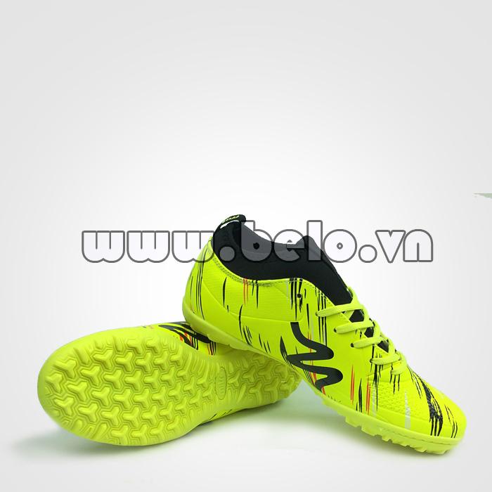 Giày bóng đá MITRE B0930 màu xanh chuối chính hãng