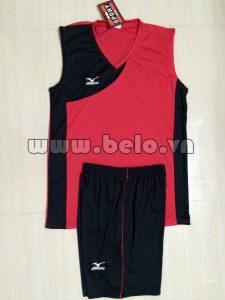 Áo bóng chuyền Nam Đỏ Đen
