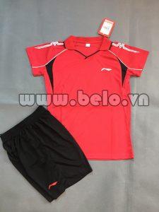 Áo bóng chuyền nữ 2017-BC-01 màu đỏ