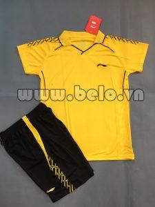 Áo bóng chuyền nữ 2017-BC-04 màu vàng