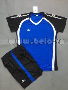 Áo bóng chuyền nữ 2017-BC-06 màu xanh dương
