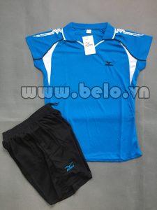 Áo bóng chuyền nữ 2017-BC-07 màu xanh ngọc