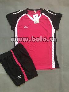 Áo bóng chuyền nữ 2017-BC-08 màu hồng