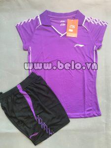 Áo bóng chuyền nữ 2017-BC-09 màu tím