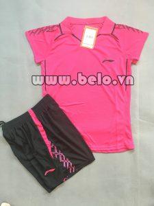 Áo bóng chuyền nữ 2017-BC-11 màu hồng