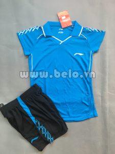 Áo bóng chuyền nữ 2017-BC-13 màu xanh ngọc