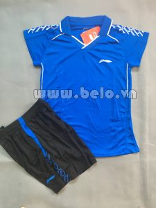 Áo bóng chuyền nữ 2017-BC-14 màu xanh dương
