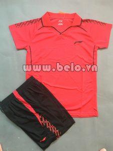 Áo bóng chuyền nữ 2017-BC-17 màu đỏ