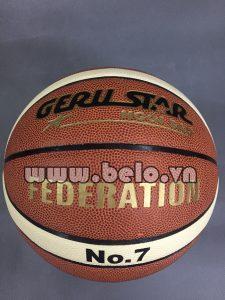Quả bóng rổ gerustar Federation thi đấu chính hãng số 7