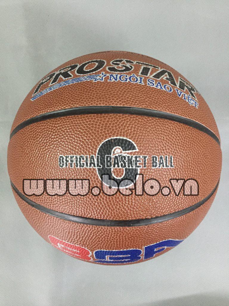 Quả bóng rổ prostar ngôi sao thi đấu chính hãng số 6