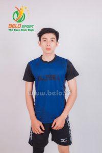 Quần áo bóng chuyền nam mizuno 1713 xanh đen