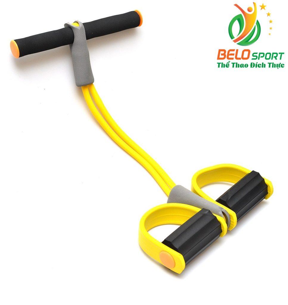 Dụng cụ tập giảm mỡ bụng siêu tốc Body Trimmer màu vàng