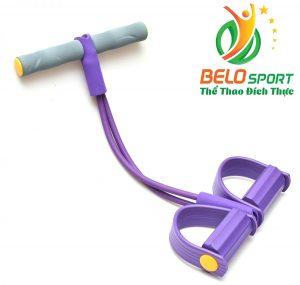 Dụng cụ tập giảm mỡ bụng siêu tốc Body Trimmer màu tím