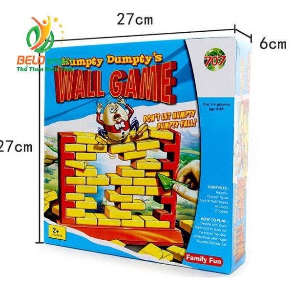 Trò chơi Board Game BG1005 Cậy Gạch – Humpty Dumpty's Wall Game tại Belo Sport