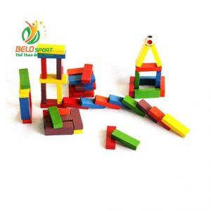 Đồ chơi Board Game BG1040 Rút Gỗ Jenga MàuGiá rẻ tại Belo Sport
