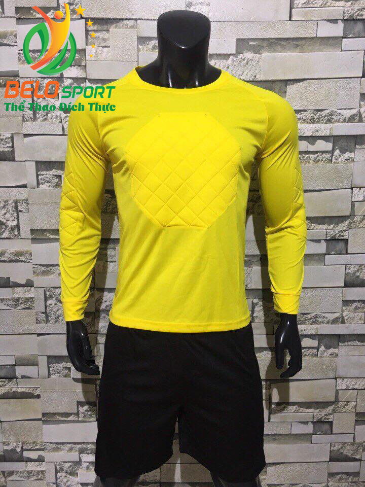 Quần áo thủ môn Belo 2018 màu vàng tươi chính hãng