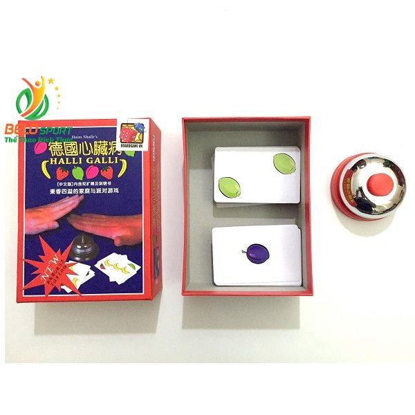 Trò chơi Board Game BG1015 Bài Hoa Quả Halli Gallitại Belo Sport