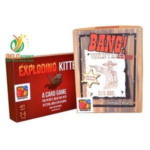 Board Game CBBG11 Combo Exploding Kittens & Bang Giá rẻ tại Belo Sport