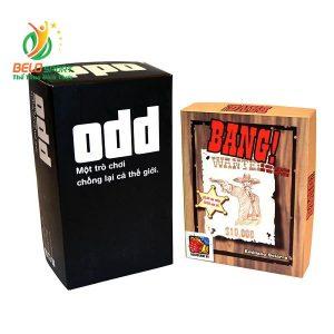 Board Game CBBG12 Combo BANG! & ODDGiá rẻ tại Belo Sport