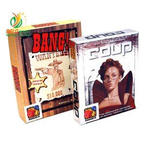 Board Game CBBG13 Combo BANG! & Coup Giá rẻ tại Belo Sport