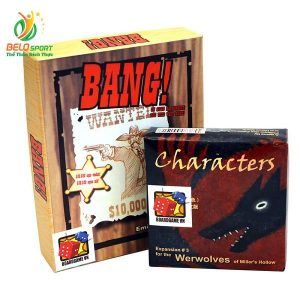 Board Game CBBG15 Combo BANG! & Ma sói characters Giá rẻ tại Belo Sport