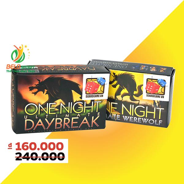 Board Game CBBG10 Combo Ma Sói One Night & Ma Sói DaybreakGiá rẻ tại Belo Sport