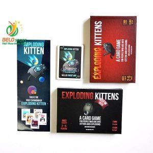 Trò chơi Board Game BG1014 Mèo Nổ Bản Mở Rộng #3 Imploding Kittenstại Belo Sport
