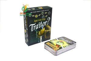 Đồ chơi Board Game BG3011 Ai là kẻ phản bội? Are you the Traitor?tại Belo Sport