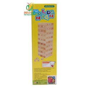 Đồ chơi Board Game BG1041 Rút gỗ Jenga số tại Belo