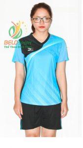 Áo bóng chuyền nữ Grand Sport xanh  2018-G6