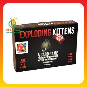 Trò chơi Board Game BG1011 Exploding Kittens – Mèo Nổ phiên bản 18+tại Belo Sport