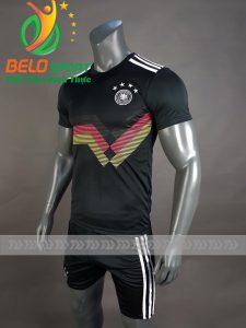 Áo bóng đá đội tuyển Đức World cup 2018 màu đen