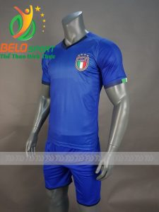 Áo bóng đá đội tuyển ITALIA World cup 2018 xanh dương