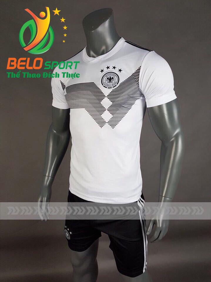 Áo bóng đá đội tuyển Đức World cup 2018 màu trắng
