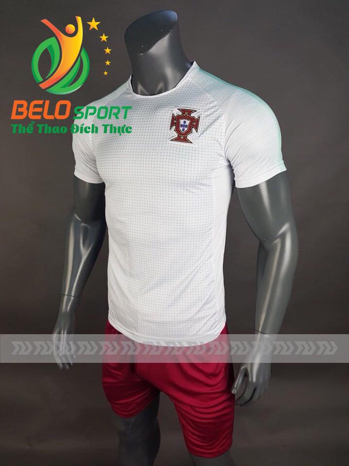 Áo bóng đá đội tuyển Bồ Đào Nha world cup 2018  màu trắng