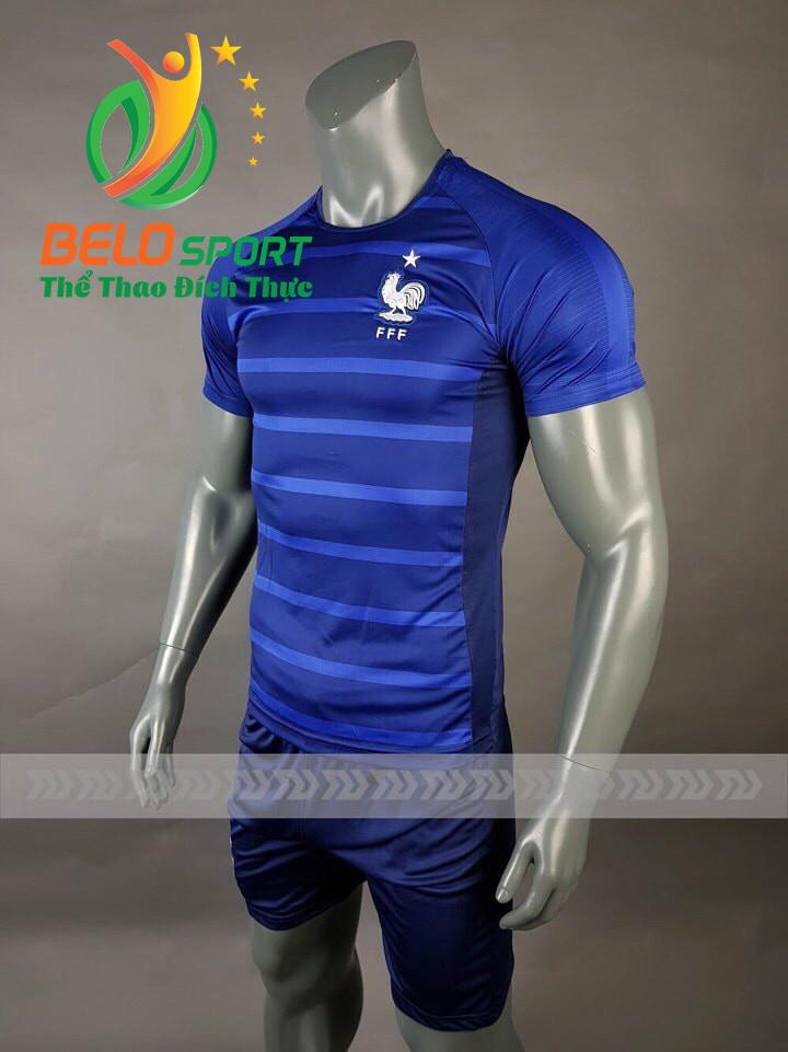 Áo bóng đá đội tuyển Pháp world cup 2018