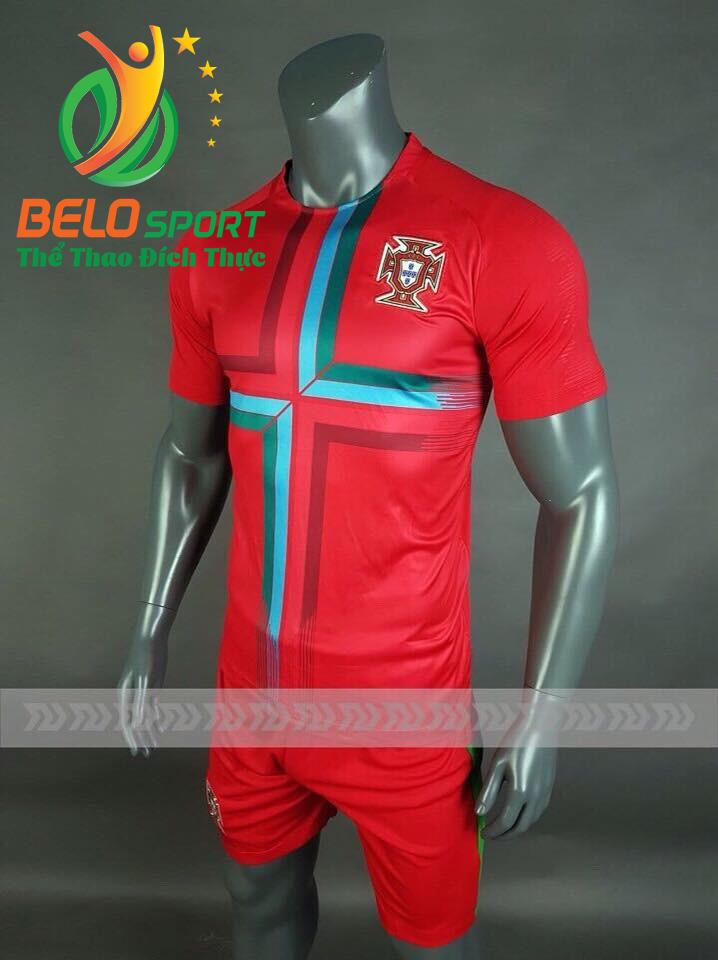 Áo bóng đá đội tuyển Bồ Đào Nha world cup 2018  màu đỏ