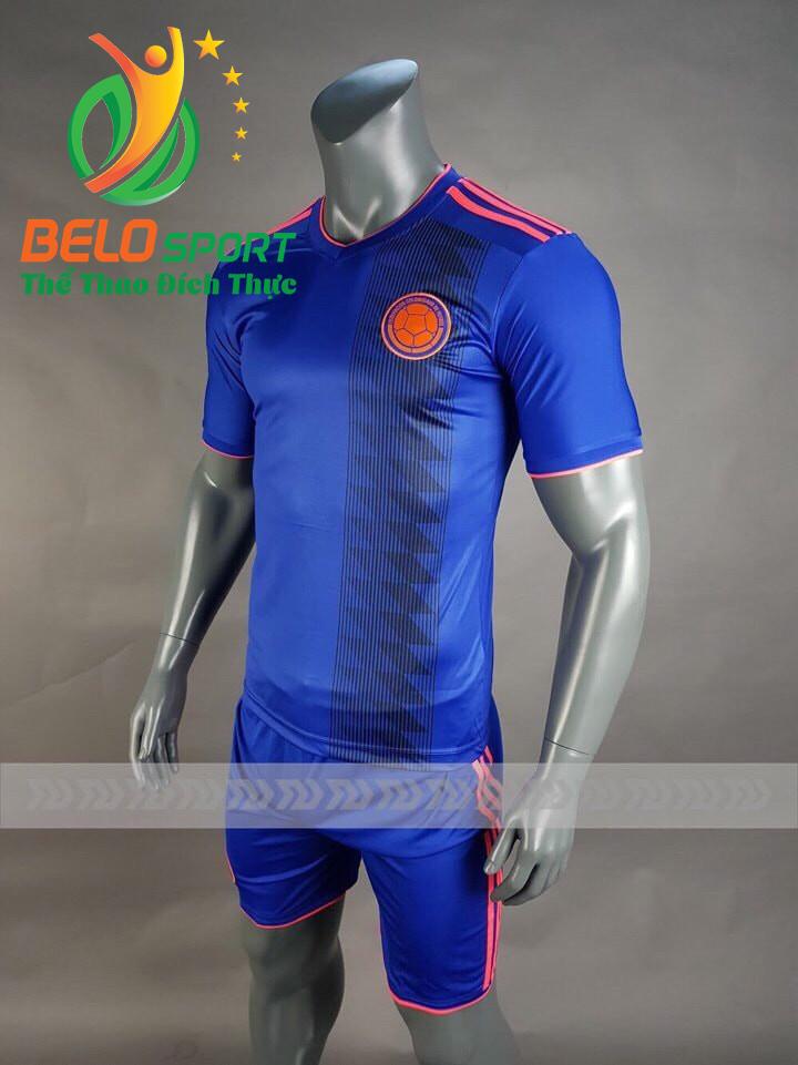 Áo bóng đá đội tuyển colombia world cup 2018