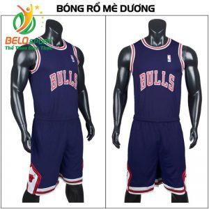 Quần áo bóng rổ người lớn BRS-07 vải mè màu biển giá rẻ