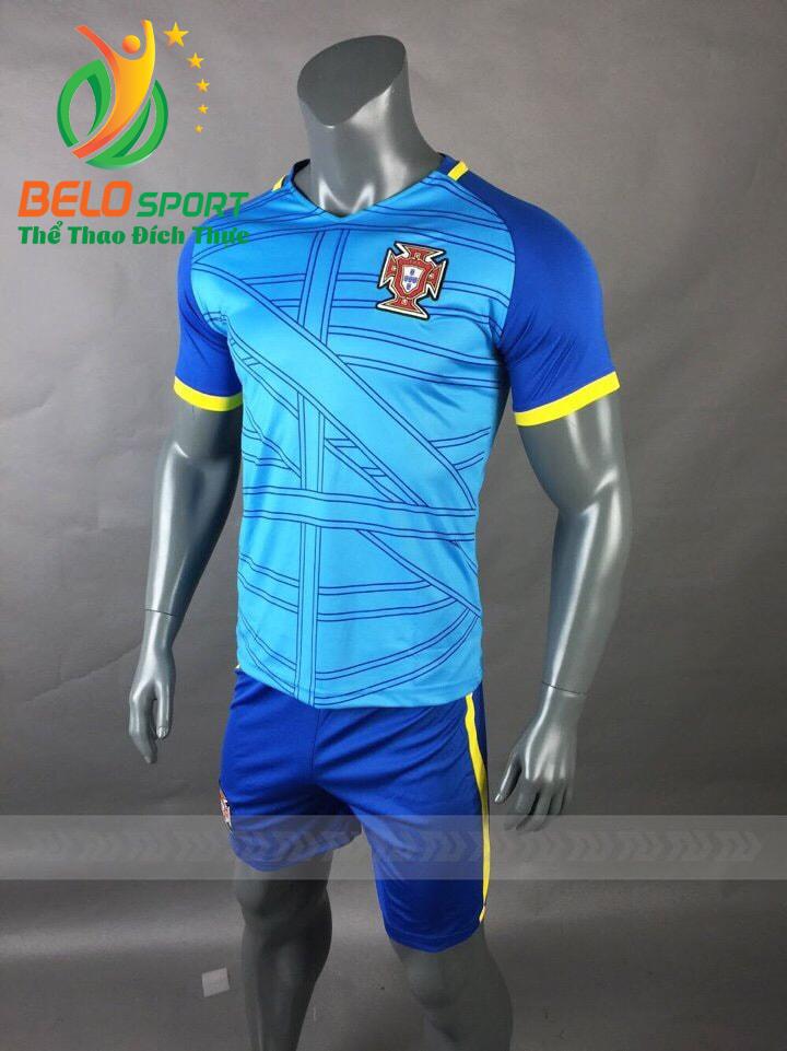 Áo bóng đá đội tuyển Bồ Đào Nha world cup 2018 màu xanh dương