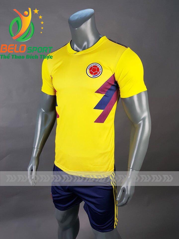 Áo bóng đá đội tuyển Colombia world cup 2018 màu vàng