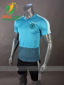 Áo bóng đá đội tuyển đức world cup 2018 màu xanh xám