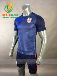 Áo bóng đá đội tuyển Mỹ world cup 2018 màu xanh đen