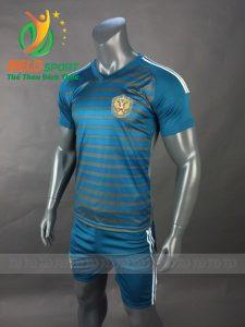 Áo bóng đá đội tuyển Nga world cup 2018 màu xanh