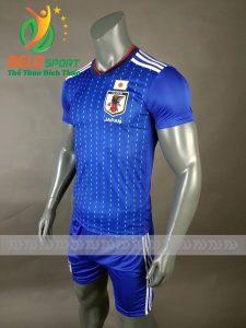 Áo bóng đá đội tuyển Nhật world cup 2018 màu xanh